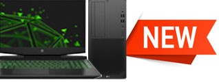 Banner that takes you to our newly added products; laptops, desktops and more